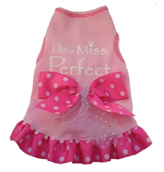 Little Miss Perfect - Tank Dress - Pink