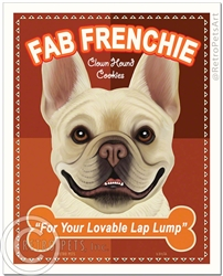 Fab Frenchie Biscuits (French Bulldog) For Your Lovable Lap Lump