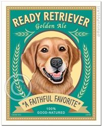 Ready Retriever Golden Ale (Golden Retriever) Superior Brew For a Fortunate Few
