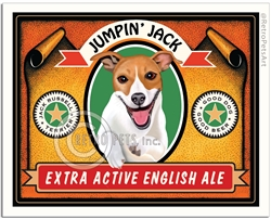 Jumpin Jack Russell (Jack Russell Terrier) Extra Active English Ale
