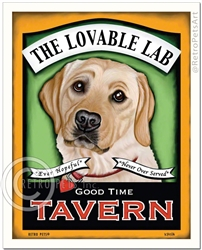 The Lovable Lab (Labrador Retriever) Good Time Tavern