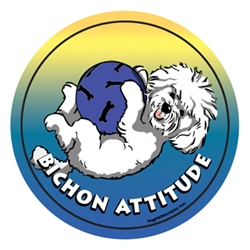 Bichon - Attitude Magnets Collection