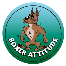 Boxer - Attitude Magnets Collection