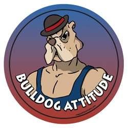 Bulldog - Attitude Magnets Collection