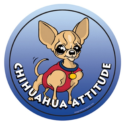 Chihuahua - Attitude Magnets Collection