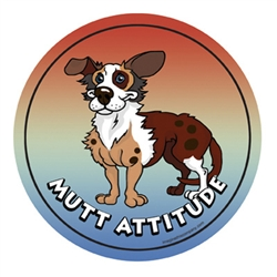 Mutt - Attitude Magnets Collection