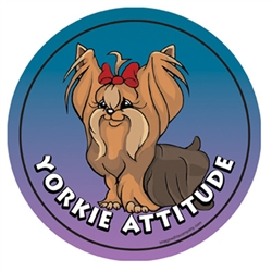Yorkie - Attitude Magnets Collection