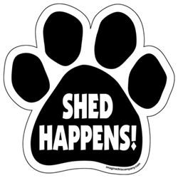 Shed Happens! Paw Magnets