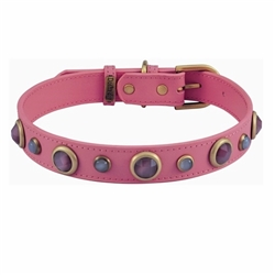 Pink Imperial Collar - Cat Eye