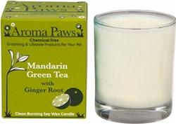Mandarin Green Tea 8 oz. in Glass w/ Gift Box