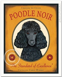 Poodle Noir (Poodle) The Standard of Excellence