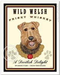 Wild Welsh Frisky Whiskey (Welsh Terrier) A Devilish Delight