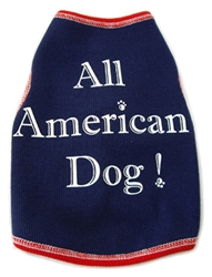 All American Dog - Tank - Navy