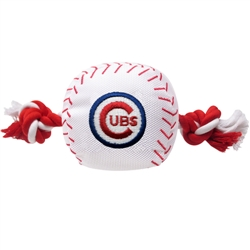 Chicago Cubs Baseball Toy - Nylon w/rope
