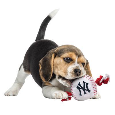 New York Yankees Baseball Toy - Nylon w/rope