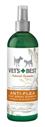 Natural Anti-Flea Easy Spray Shampoo (16 oz)