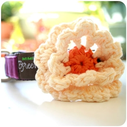 Creamsicle Flower