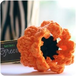Halloween Candy Corn Flower