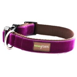 'Olive' Velvet Collars & Leashes