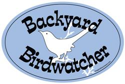 Backyard Birdwatcher Magnet