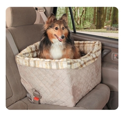 Jumbo Deluxe On-Seat Pet Booster for Dogs up to 30 lbs