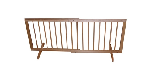 Step Over Gate - Oak