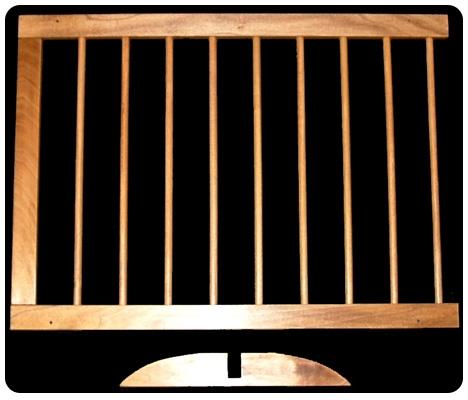 Step Over Gate Extension - Oak