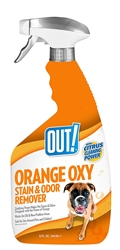 OUT! Orange Oxy Stain & Odor Remover 32 fl. oz.
