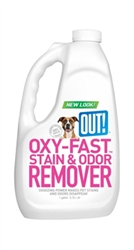 OUT! Oxy Pet Stain & Odor Remover 1 Gallon  ....