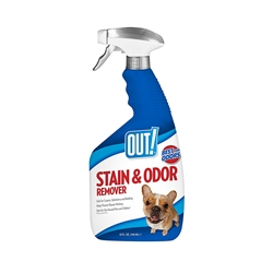 OUT! Stain & Odor Remover 32 fl. oz. (spray bottle)