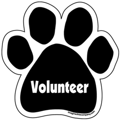 Volunteer Paw Magnets