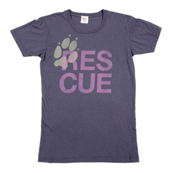 RESCUE Asphalt Charity Tee for Gals*