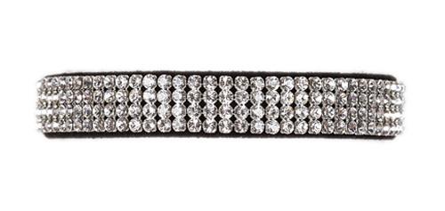 Black 4 Row Giltmore Collar