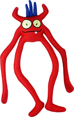"Red Alien Specter Toy - 15"""