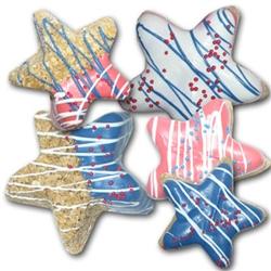 Seasonally Decorated Stars