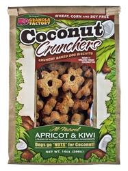 Coconut Crunchers Apricot & Kiwi (14 oz bags)