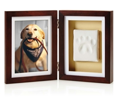 Espresso Pawprints™ Framed Tabletop Kit