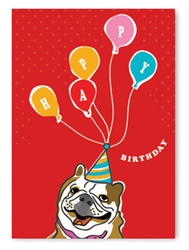 Birthday: Bulldog Ballons
