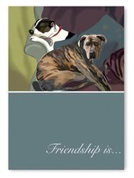 Friendship: Two Pitbulls