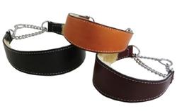 Black Martingale Collar w/ Shearling