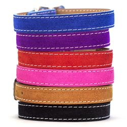 Saratoga Suede Collars - 6 Colors!