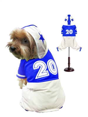 Football Uniform Dog Costume