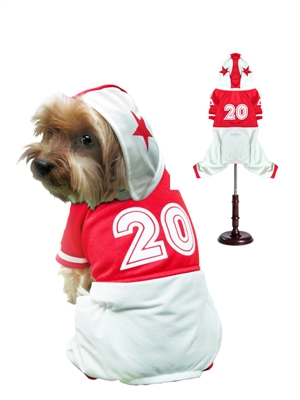 Football Uniform Dog Costume