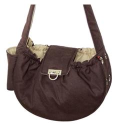 DOGO Brown Messenger Bag