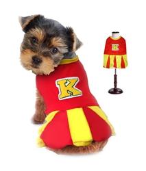 Cheerleader Dog Costume