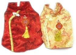 Chinese Dress Dog Costume