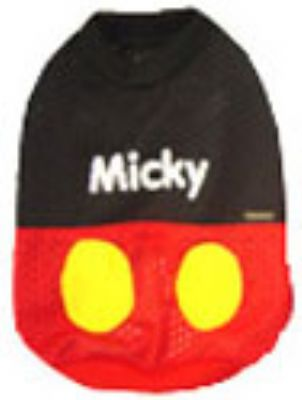 Mickey Mouse Mesh Sleeveless T-shirt