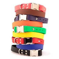 Waterproof Sparky's Choice Collars w/Side Release Buckles - 9 Colors
