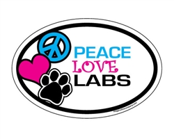 Peace Love Labs - Oval Magnets