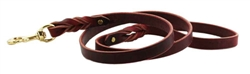 BRAIDED LEASHES - Burgundy, Black, Tan